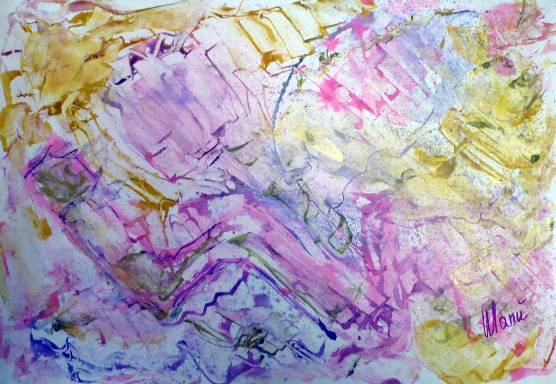 """Manuelita Mori in arte """"Manù"""", artista toscana, inaugura il sito web."""