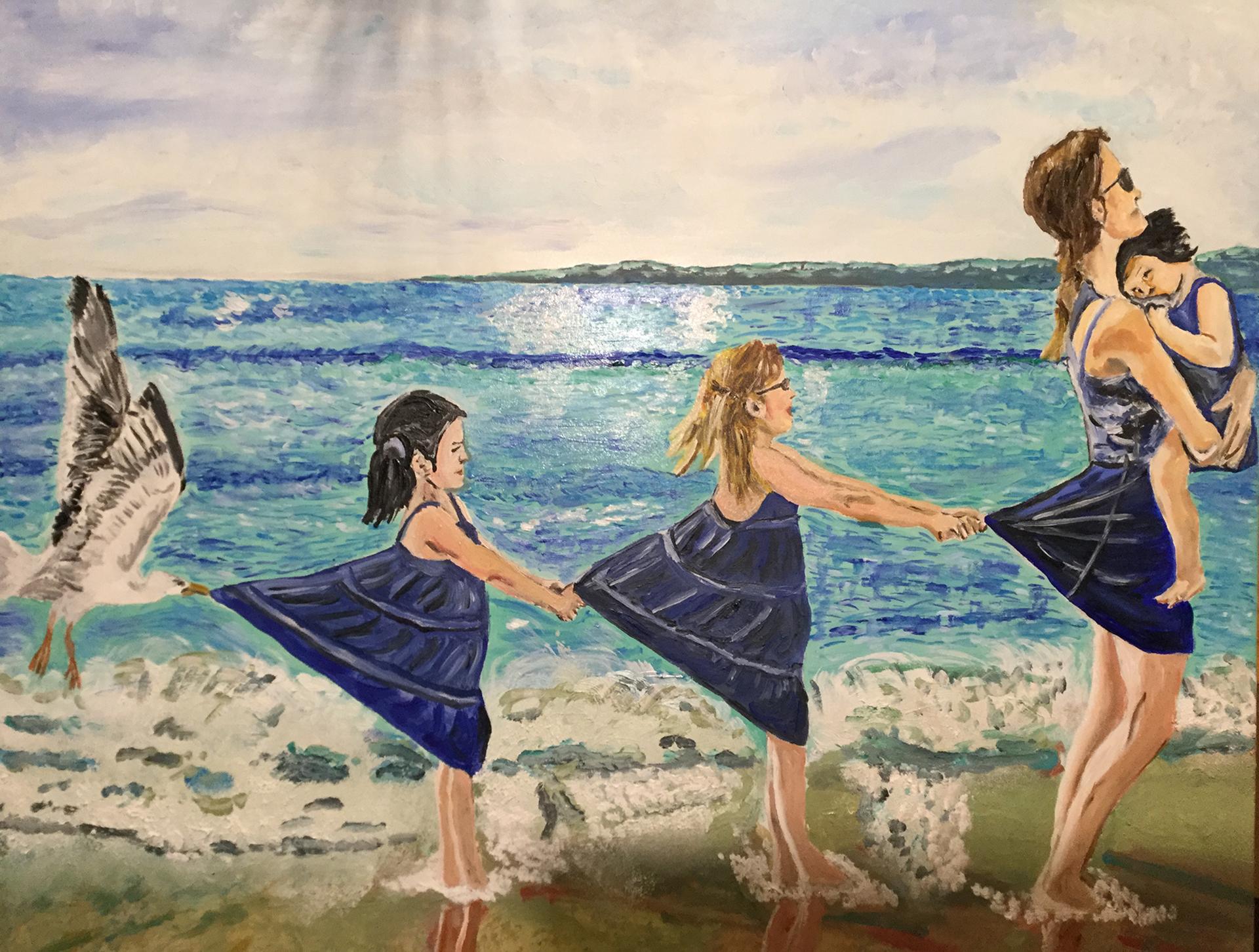 Sito web d'artista: Pasquale Iannelli - Capricci - Olio su tela con cornice (60×70 cm) – anno 2018